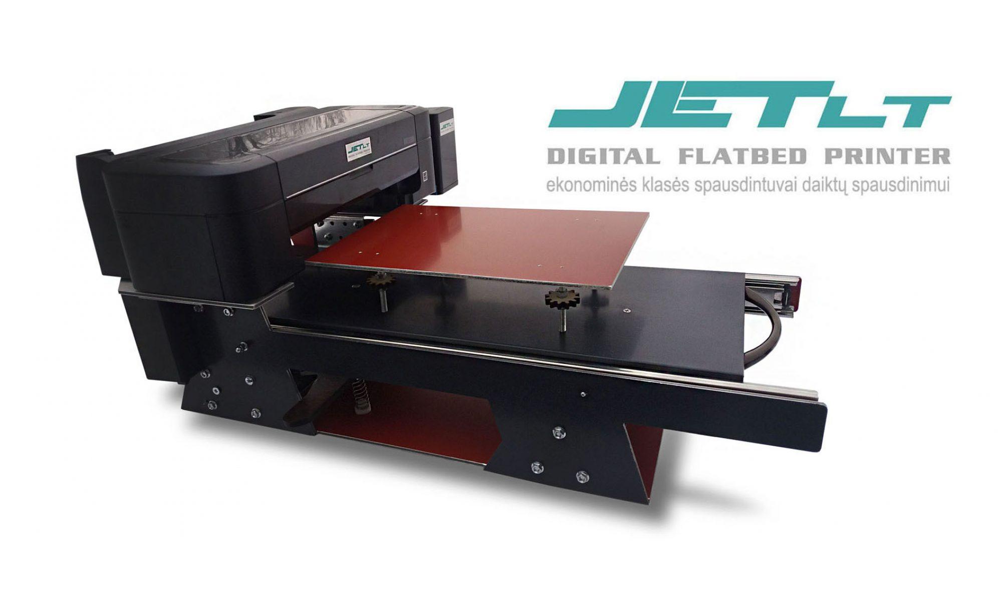 JetLT.com Flatbed printer